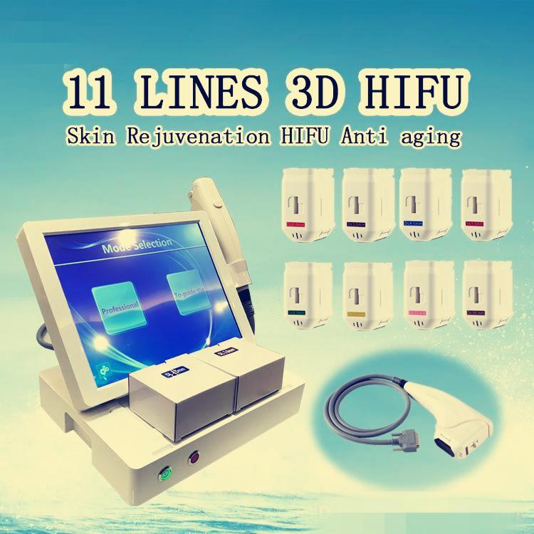 Machines à ultrasons HIFU 3D Intensité de haute intensité HIFU Serrer la peau Therapy Therapy Shaper Shaper Minceur HIFU Beauty Machine FAZIPIN