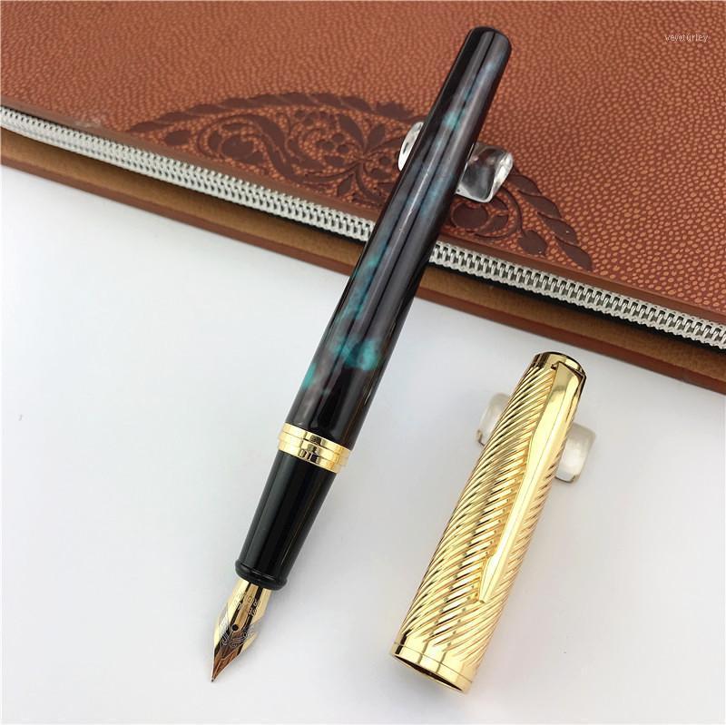 نافورة أقلام مونتي جبل التنين القلم ترقية الحبر المعدني القرطاسية المدرسة هدية الأعمال الأب صديق الحاضر 0541
