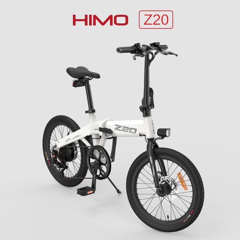 [الاتحاد الأوروبي ستاو] هيمو للطي دراجة الدراجة الكهربائية Z20 C20 Z16 ebike 250W موتور رمادي أبيض كهربائي دراجة من Xiaomi Youpin