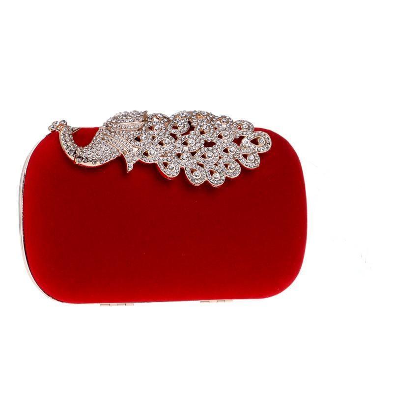 Crown Clutch Bag Taschen Neue Dame Abendtaschen Geldbörse Rhinestones Geldbörse Für Hochzeit Schulter Diamanten Abend Mini Tqfis