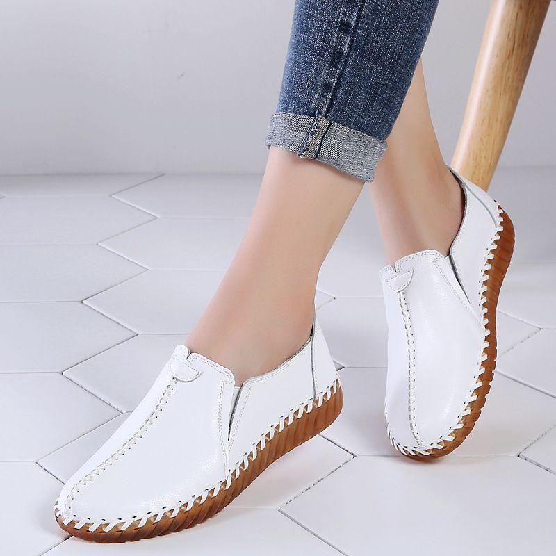 2020 202020 Femme Feminine Femme Confort Chaussures Casual 5699