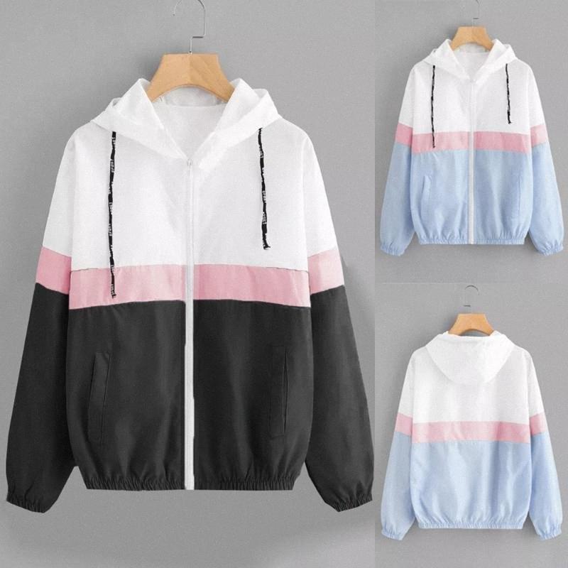 Veste Femmes Manche Longue Patchwork mince Pardessus 2019 Nouveau Mode solide Outwear Manteau Casaco Feminino 18SEP13 AFLJ #