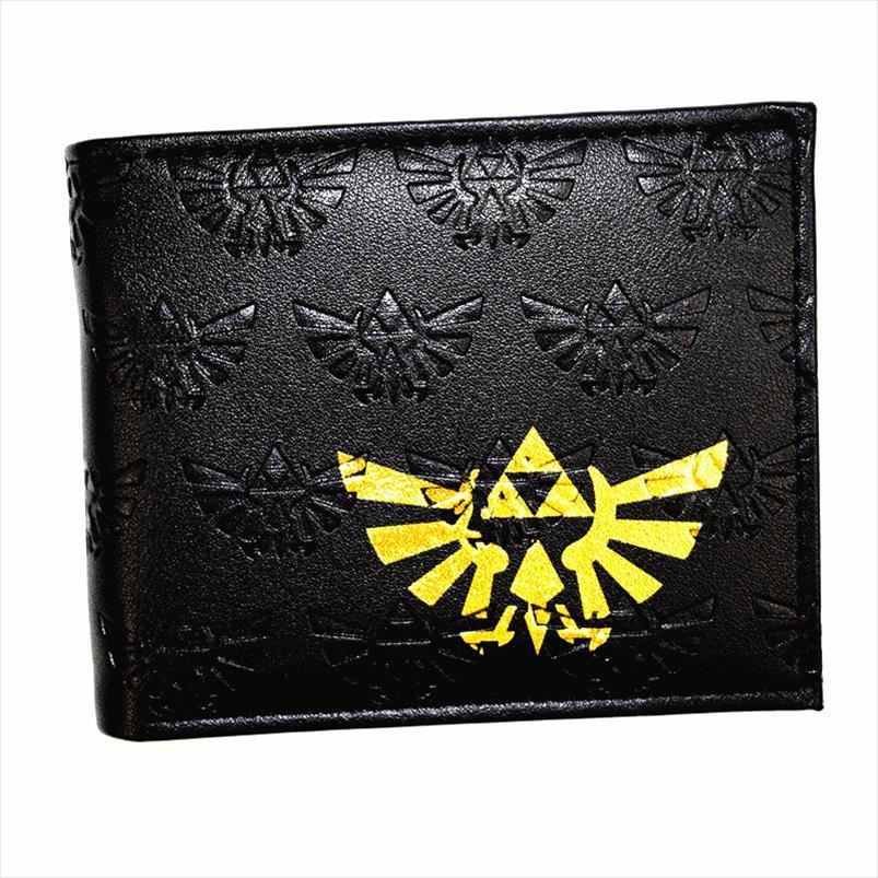 Neue gute Zelda Ankunft Brieftasche Qualität Spiel PU-Leder Herren Geldbörse Hohe Qualität Mode Drop Neue Verschiffen Hverc