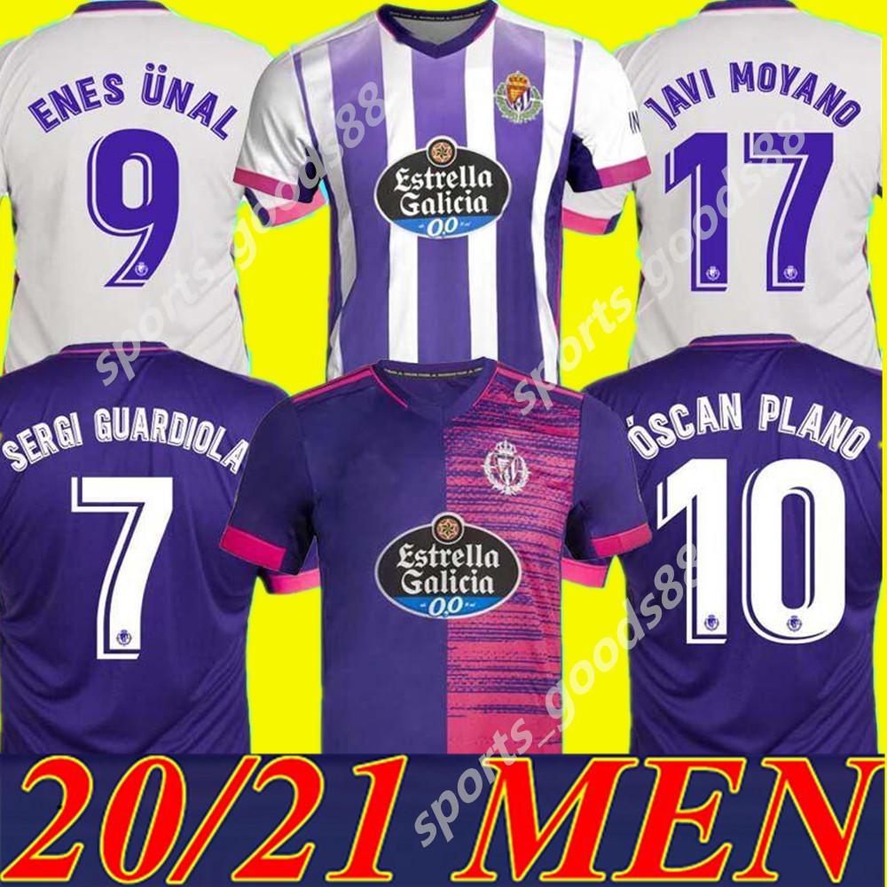 2020 2021 Real Valladolid Soccer Jersey 20 21 Fede S. R. Alcaraz Sergi Guardiola óscar Plano CamiSetas Sergi Guardiola Джерси