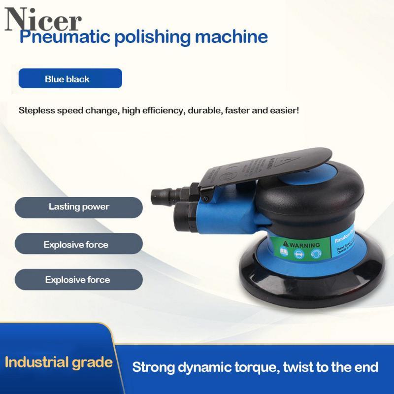 Pnömatik Araçlar Endüstriyel Sınıf Parlatıcı Taşlama Makinesi Zımpara Kumlama Aracı Hava Sander