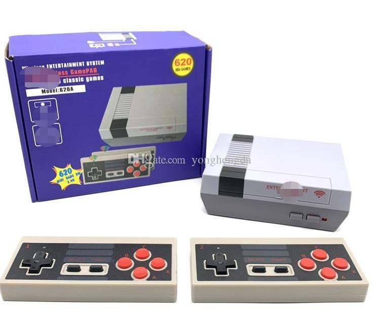 Wholesale Mini Classic Game Console Video Handheld 620 wireless games console