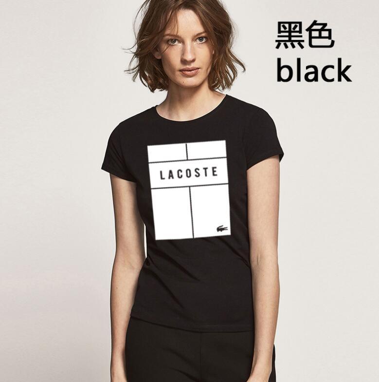 O envio gratuito de designer Camisas Printing Moda camiseta mulheres camisa pólo de manga curta Itália
