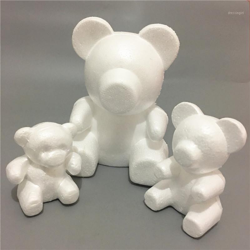 35 mm Modelado oso espuma poliestireno espuma de poliestireno oso de espuma de espuma de espuma de corazón adornos de bola de corazón Artesanía Flower Fiesta de Navidad Regalos1