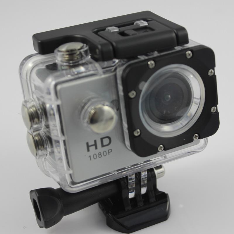 W9 Sport video camera full hd 1080p 170 degree Waterproof helmet sports camera DV Portable mini digital action camera 15pcs
