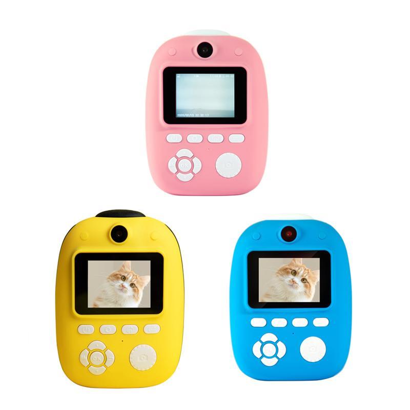 Kamera Çocuk Kamera D10 HD 1080 P 18MP 2.0 inç Çift Lens Mini Anında Baskı Birden Çok Renk İsteğe Bağlı
