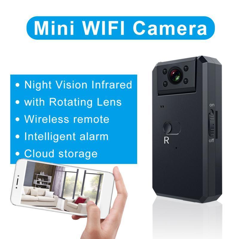 4K Мини камеры WiFi Smart Wireless IP видеокамера Hotspot HD ночного видения Видео Micro Small Cam обнаружения движения Видеоблог Espia