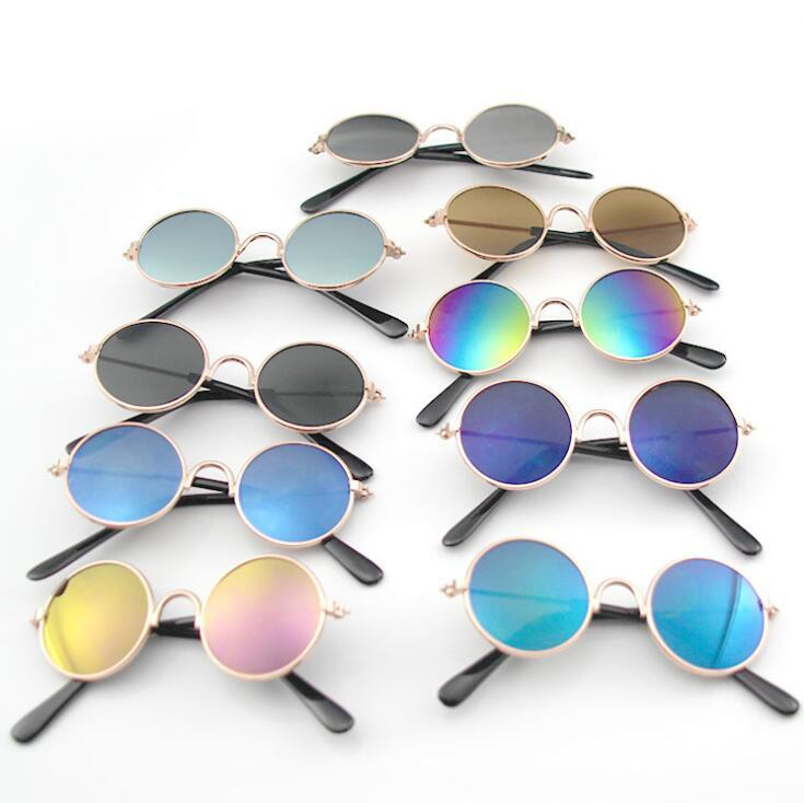 Pet Glasses Cat Sunglasses Favorite UV Glasses Windproof Cool Accessories Protective Glasses Dog Supplies 15 Colors YL287