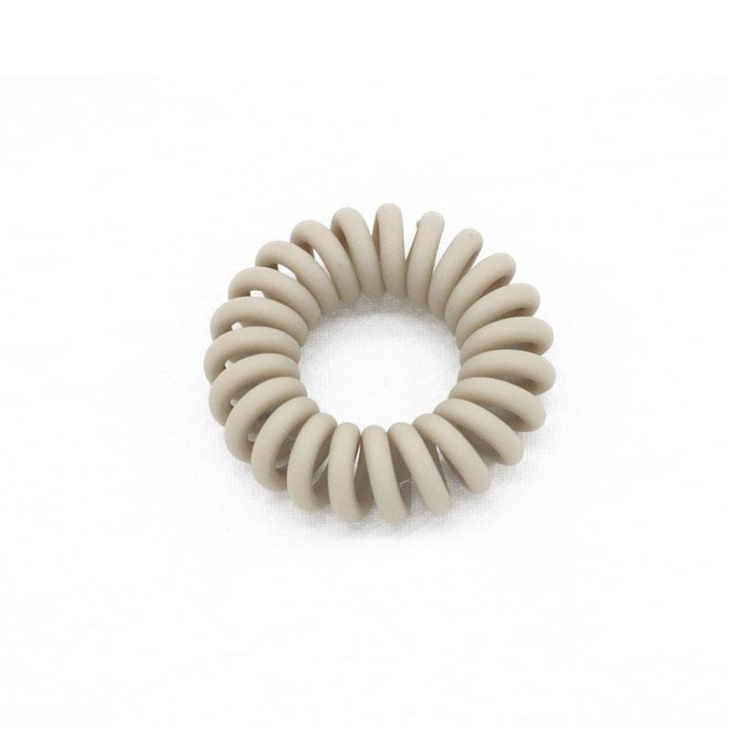 Frosted Elastic Telephone Draht Haarbänder für Mädchen Headwear Pferdeschwanzhalter Gummi-Scrunchies-Zubehör Q QYLWSS
