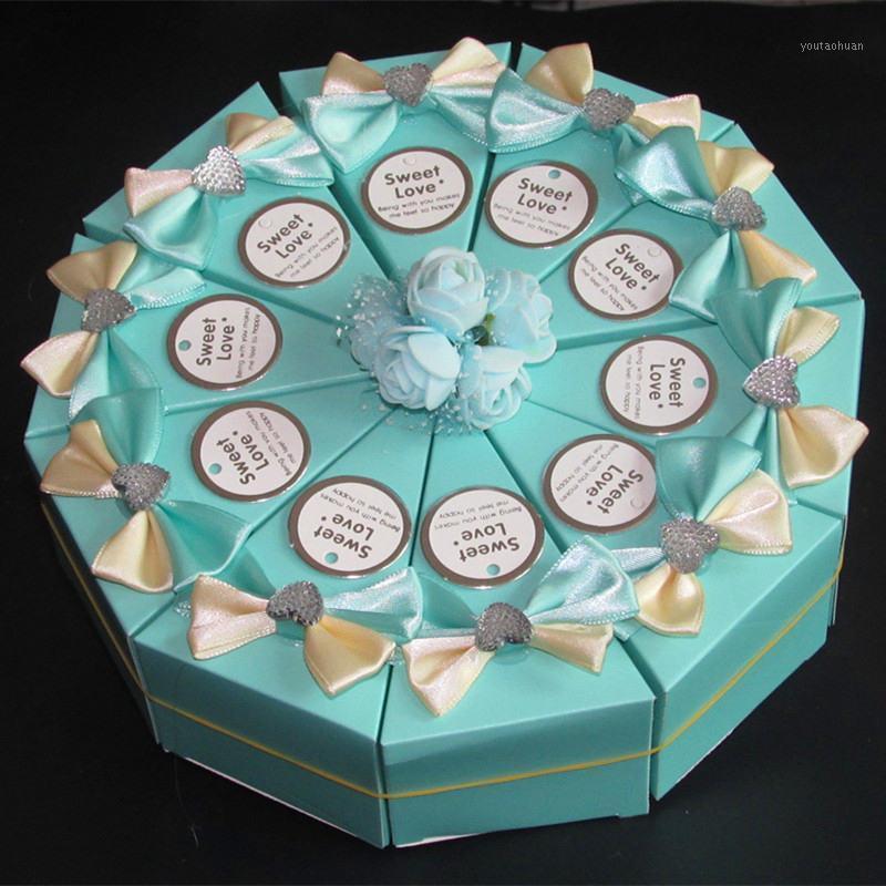 Подарочная обертка 33 цвета свадебные украшения столовые конфеты коробки для хранения, декоративные фиесты ящики, белый галстук галстука картон 1