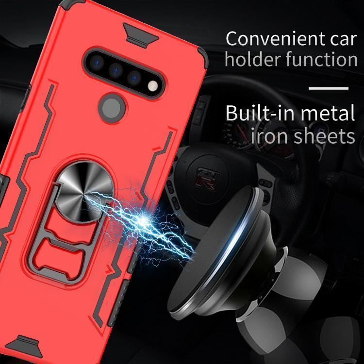 360 Derece Mıknatıs Araç Tutucu Telefon Kılıf ile Us İçin Lg Stylo6 Lg K51 Q51 Kılıf Araç Tutucu olarak Sıcak Satış
