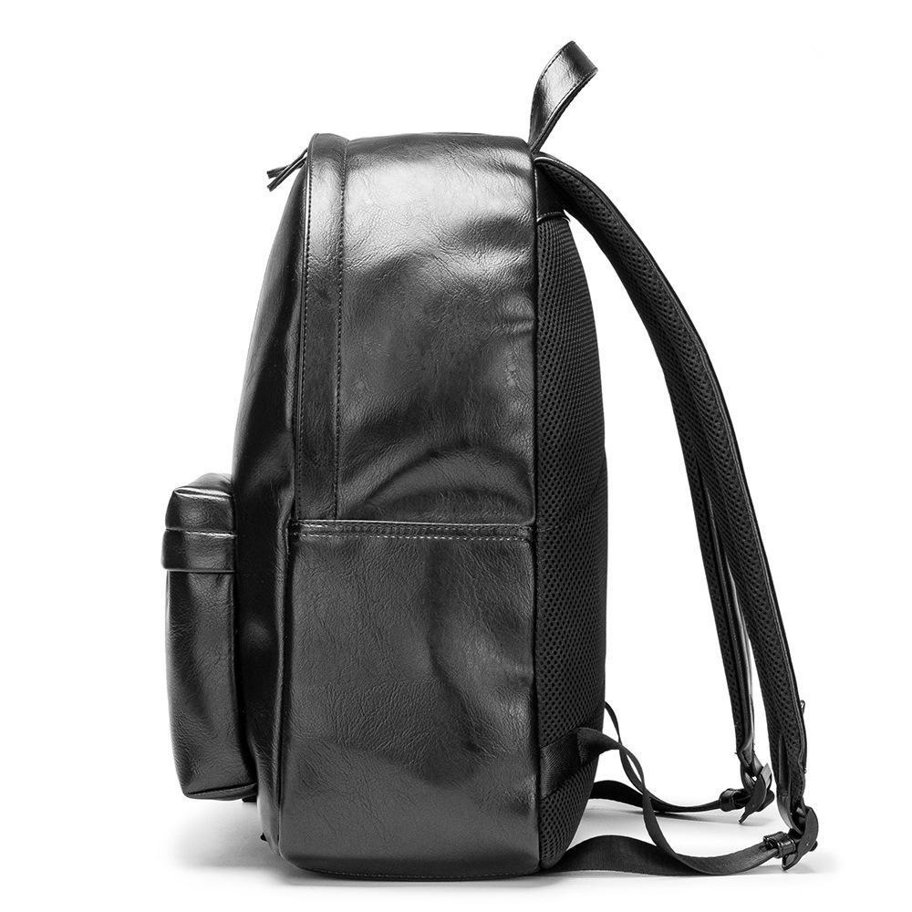 2021 High Capacidade Mochila Masculina Business Lazer Saco Simples Computer Bag Moda Men's Travel Bag 42cm Mochila