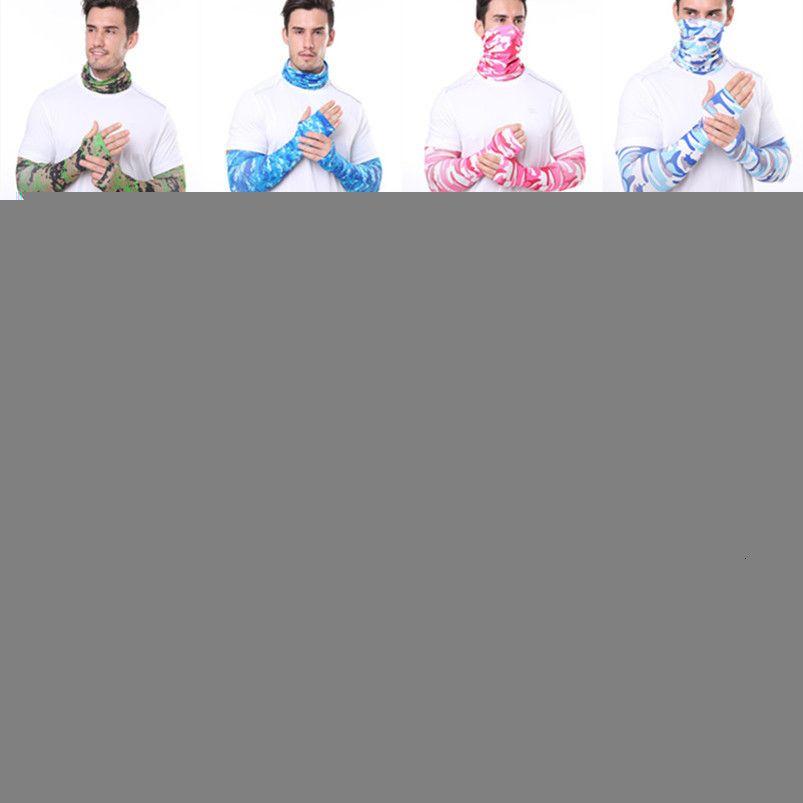 La vendita calda per la casa protezione solare il trasporto libero manicotto di ghiaccio maschera protettiva all'ingrosso esterna Sport Ciclismo Attrezzatura di protezione Cappelli Maschere 0133