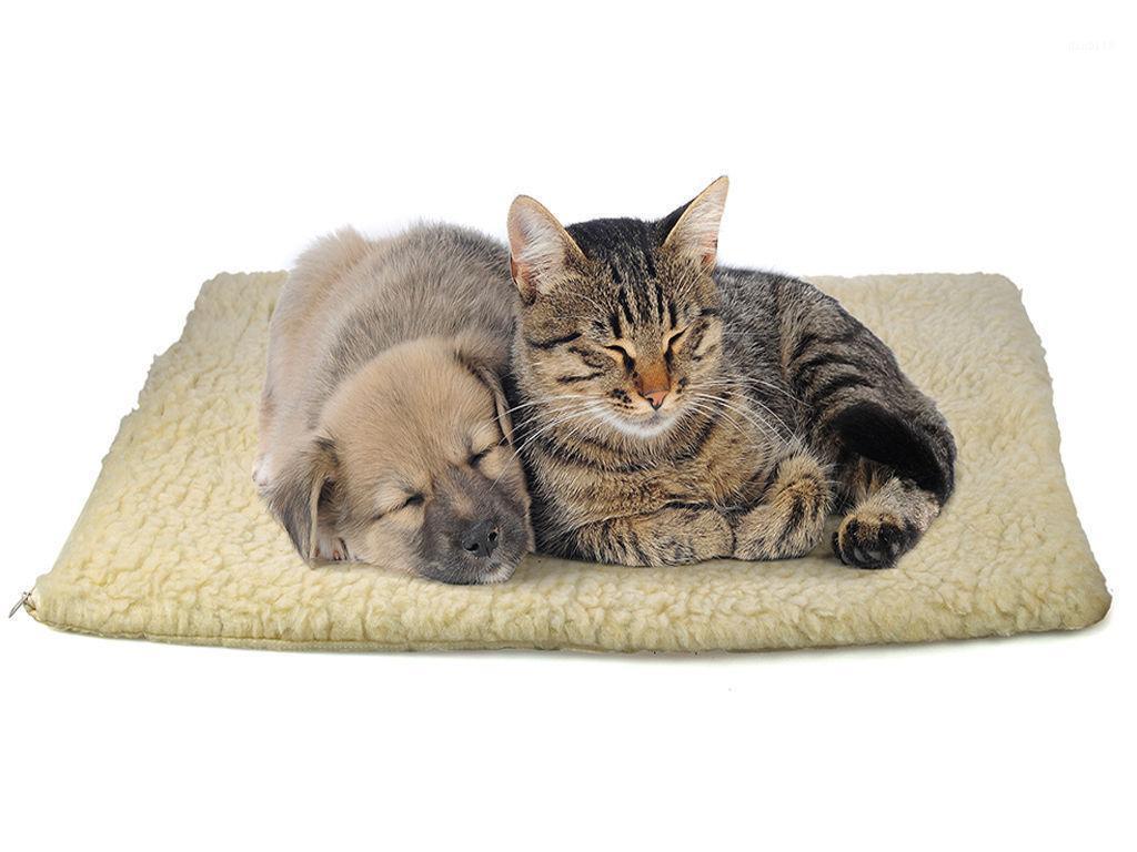 Мягкая теплая собака для собак кровать дома накладки коврый чехол для маленькой средней большой собаки домашнее животное одеяло спящие коврики кровати кошка щенок щенок