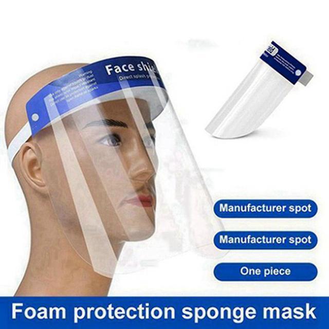 Masque de protection jetable pour animaux de protection Masque de protection TRANSPARENT DOUBLE FOZ ANTI-BOGTLET MASQUE DE PROTECTEUR anti-poussière DHL Livraison gratuite