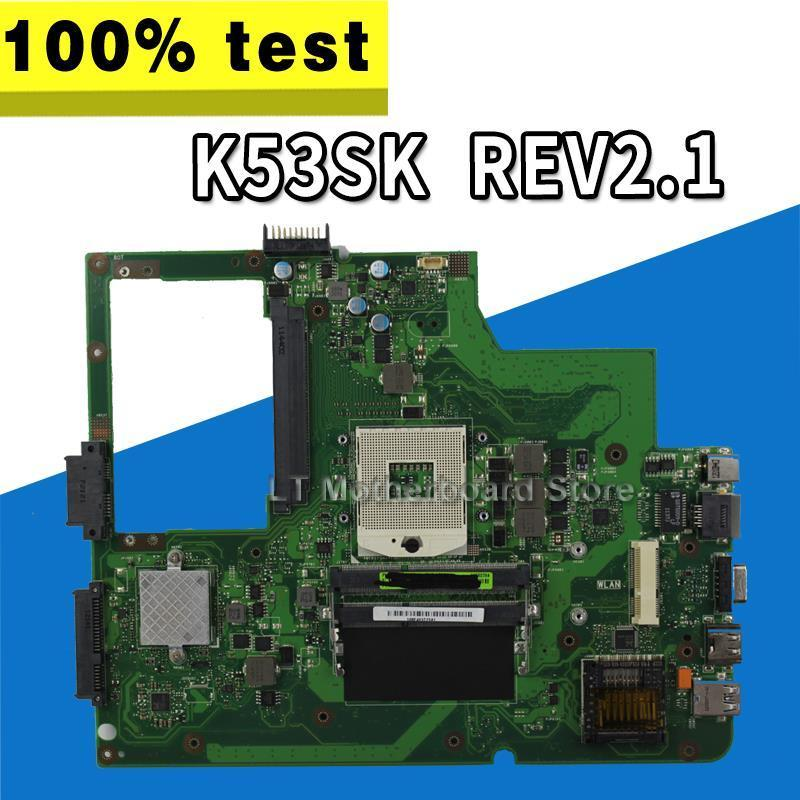 For Asus K53SK Laptop motherboard K53SK mainboard REV2.1 100% tested