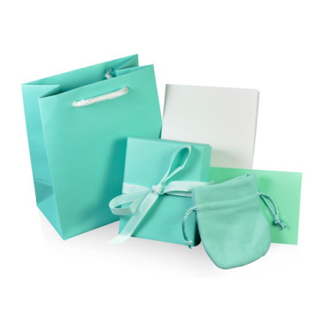 NEW 매력 원래 클래식 팔찌 반지 귀걸이 보석 선물 보호 박스 세트 장식 가방 핸드백 천 패션을 닦아