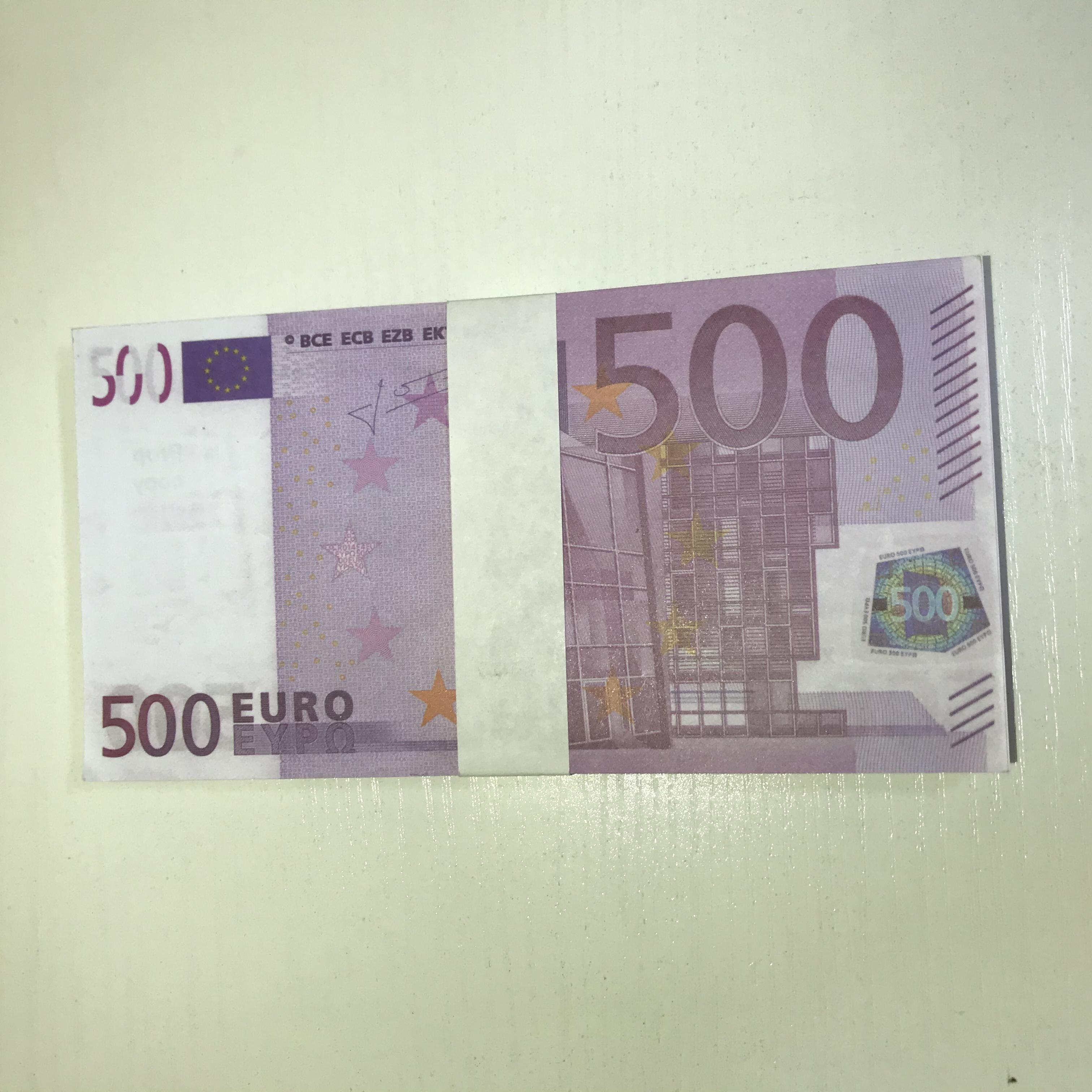 Billet Billet Billet Billet Nouveaux Enfants 500 livres Magie Papier Cadeau Papier Dollar Dollar Dollar Dollar Le500-30 Ftrbo Ticket Euro Uhmgr
