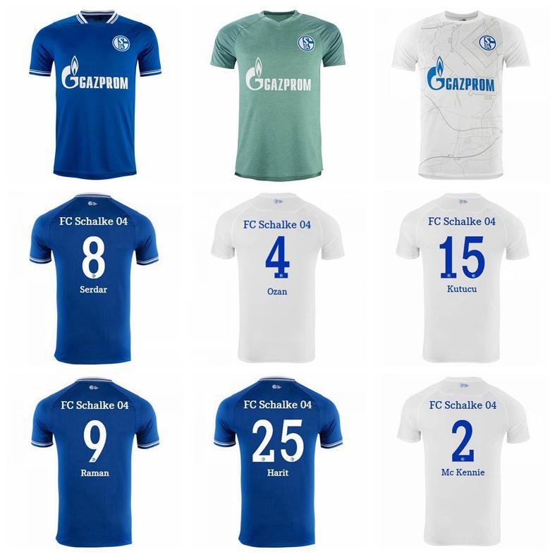 2021 2020 2021 Soccer Schalke 04 FC 10 Nabil Bentaleb Jersey 18 ...