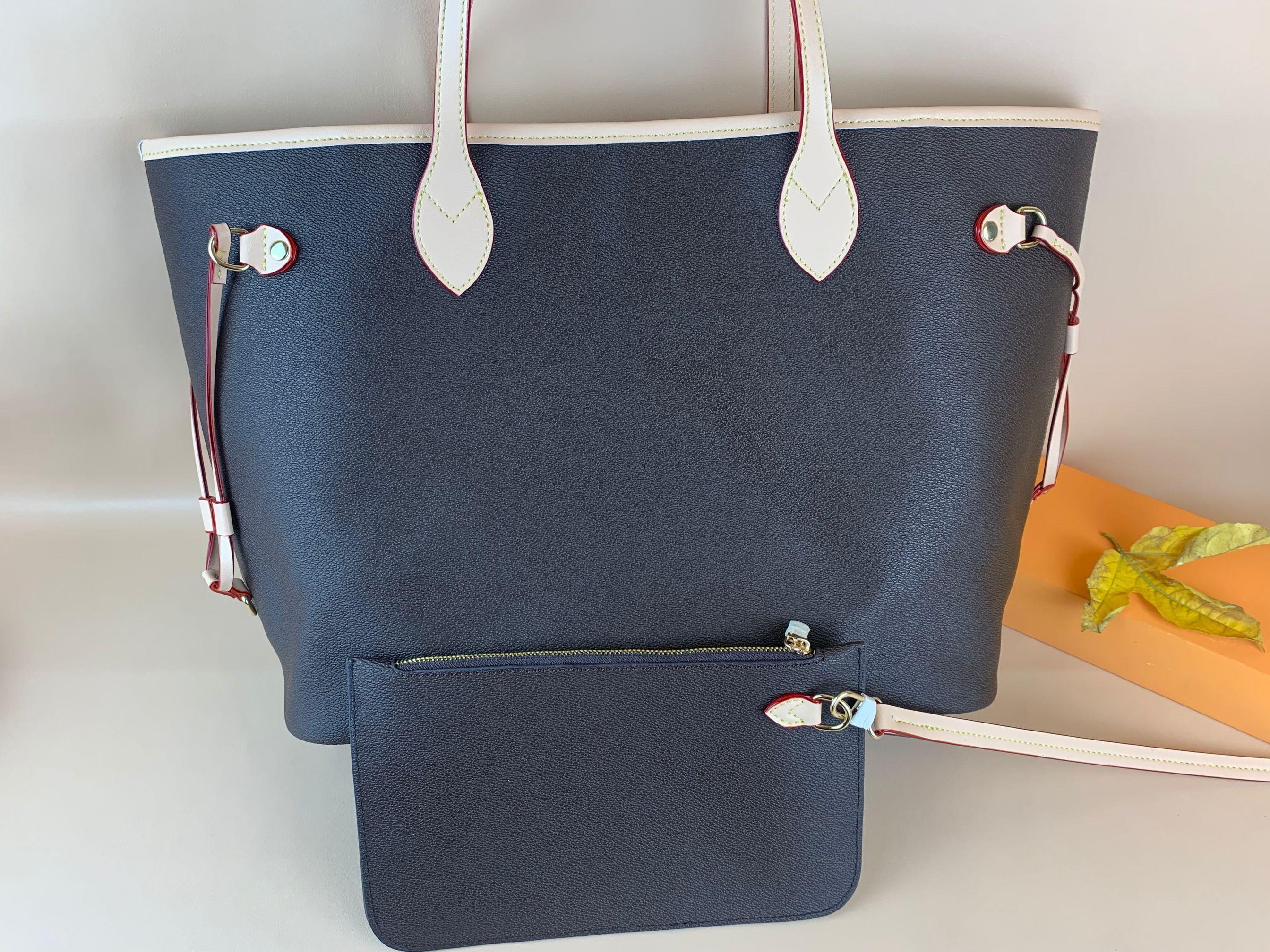 ClassWholesale السعر بيع عالية الجودة أزياء المرأة حقائب جلدية مع محفظة السيدات اليد مع الحقيبة حقائب الكتف التسوق 2 قطعة مجموعة