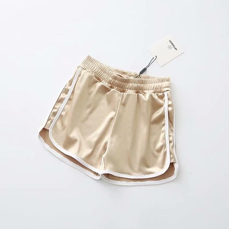 Pantalon chaud élastique élastique pour femmes en été