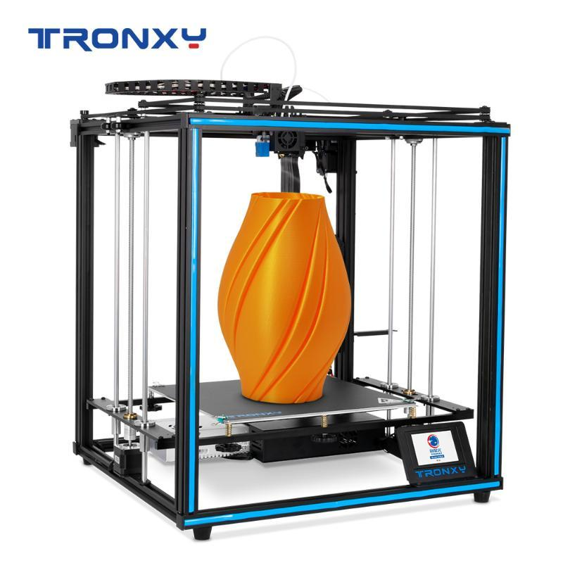 Tronxy 3D Printer X5SA-400 Large build area 400*400*400mm Bowdon TItan Extruder High Precision 3d printing Flexible Filament