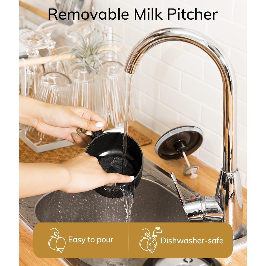 NOVO AEVO elétrica DIY café Espuma Máquina Automática Milk Frother Machine, EUA plug