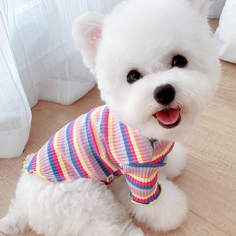 Ropa para perros para perros gatos invierno cálido cachorro kitten knit suéter suave pequeña mascota ropa para chihuahua pug dachshund ro jlldgx