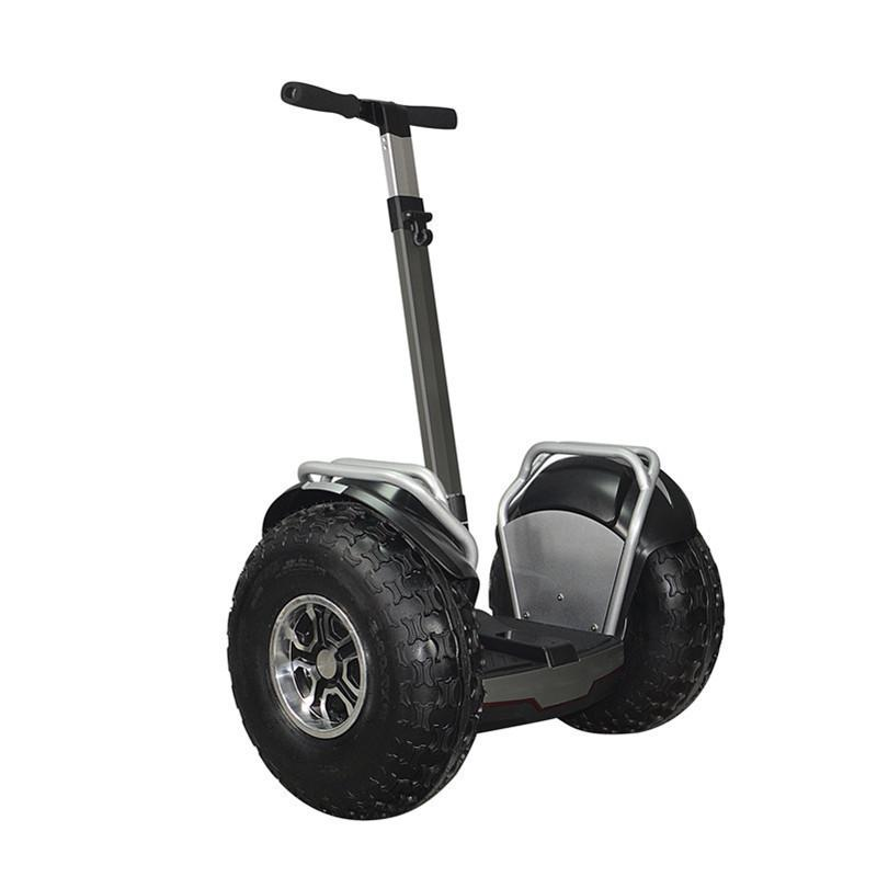 Elektrische Roller Erwachsene 2 Räder Balance Roller Hoverboard Off Road 2400W 60V 20km / h