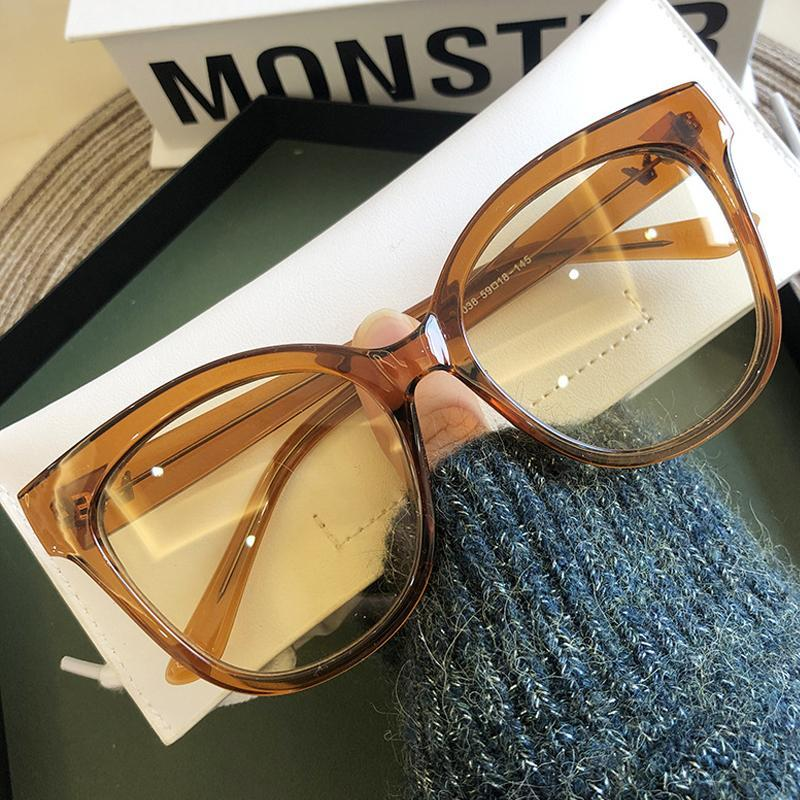 Sun Fashion Round Goggle Men Eye Sunglasses Gradient Brown Glasses Clear 2020 White Cat Retro For Women Shades Vintage Eyewear Lnnbq