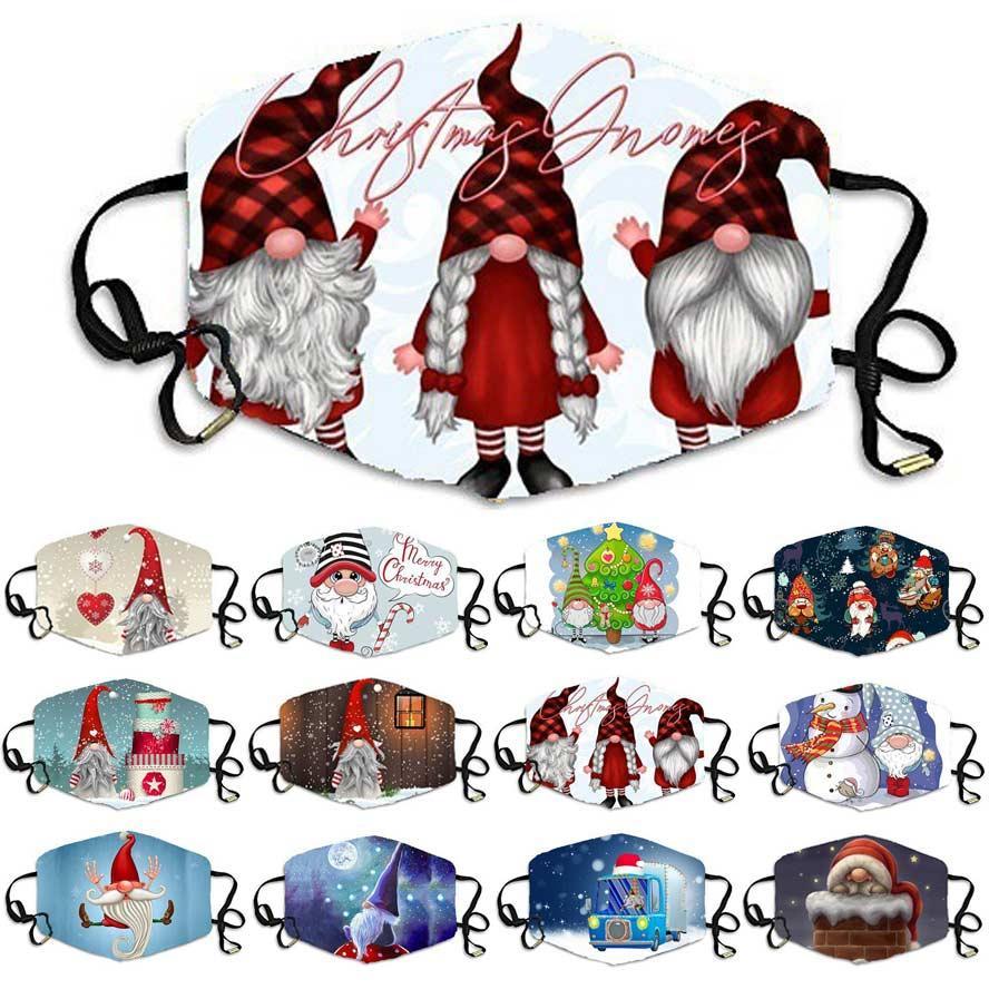 маска Рождество дизайнер маска для взрослых персонализированных лица маски мужчин, женщин пыла хлопка масок boyrs девочек анти туман пыли печататься маска для лица