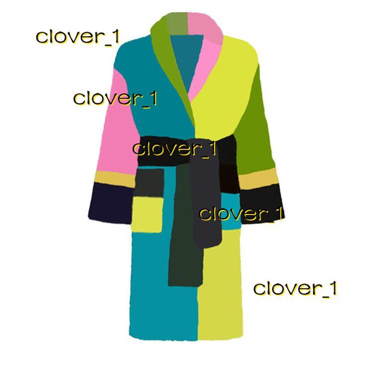 Mujeres Albornoz Sueño Robe Unisex Hombre Algodón Ropa de dormir Noche Robe de alta calidad Albornoz Brand Designer Robe transpirable Elego KLW1739