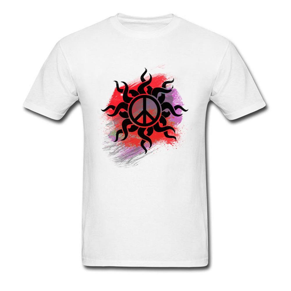 Segno grafico Pace Con Vernice Design rotonda Collare Got Tops Earth Day Simbolo Generale Autunno sportiva Felpa con cappuccio degli uomini della maglietta
