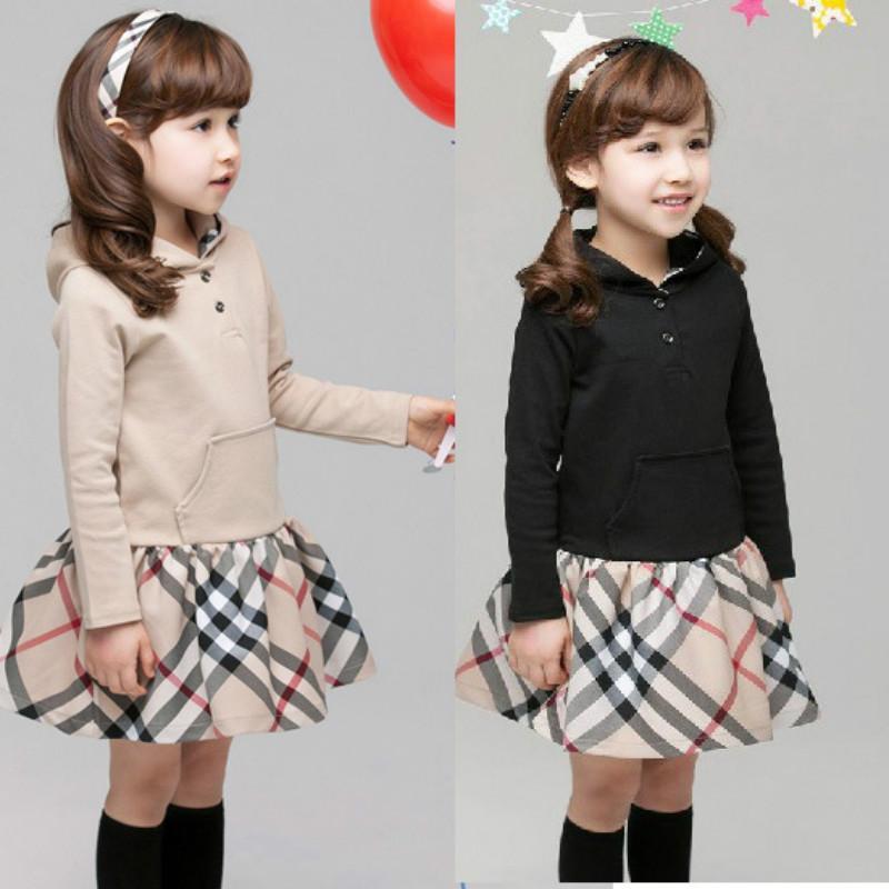 아기 드레스 체크 무늬 아이 소녀 드레스 여름 아기 소녀 옷 A 라인 소녀의 드레스 공주 드레스 드레스 vestidos 무료 배송
