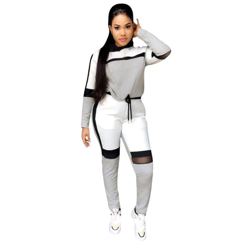 Femmes sport Quick Set sec exercice de sport Costume Costumes Patchwork Gym Vêtements pour Fitness L'exercice Trainning fixe # 4
