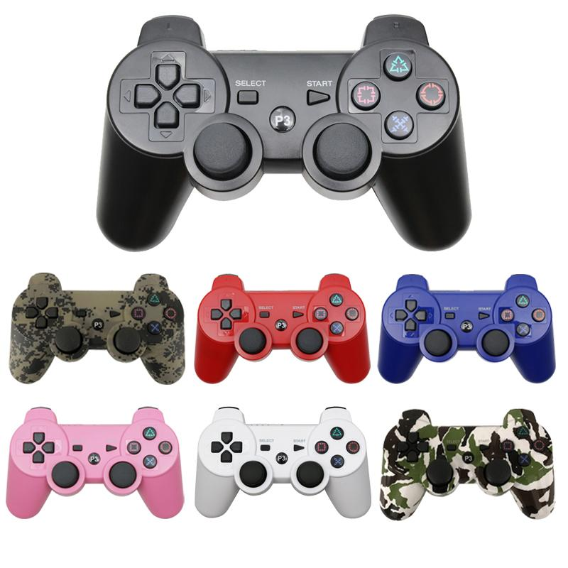 Bluetooth Wireless Gamepad ل PS3 Swimstick Console Control للكمبيوتر الشخصي لسوني PS Controller Joypad Accessorie