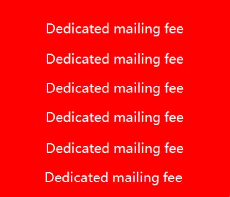 Özel Posta Ücreti