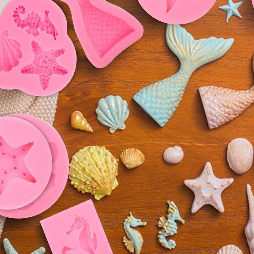 6 Pack Fondant Molde Do Bolo De Decoração Ferramentas De Cozimento Acessórios Sile Mold Molde Cupcake Fondant Decor Decor Ferramentas Padaria Confle Jllhcf