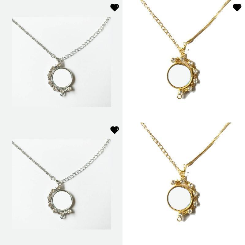 الفراغات التسامي قلادة حجر الراين ستار تدوير سلسلة معدنية قلادة سيدة سمير الأزياء سحر القلائد هدية 6 9 hy n2