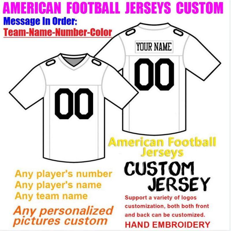 Pallacanestro personalizzato Baseball Ice Hockey uomo Uomini Donne Bambini American Football Jerseys Sport College Popular2021 Calcio Jersey Orange 4XL 5XL 6XL