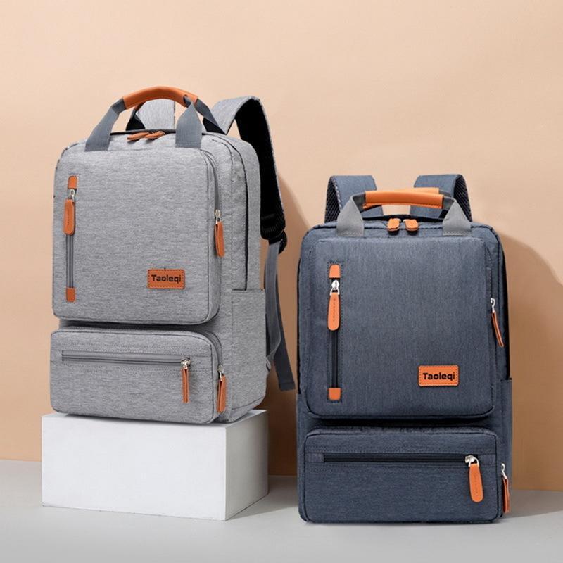 Men's Casual Business Notebook Lumière de 15,6 pouces Sac d'ordinateurs portables Anti Vente Sac à dos Voyage Rucksack Schoolbag 2020