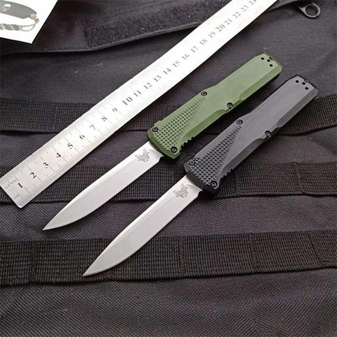 butterfly 4600 double action S30V tactical self defense folding edc knife camping knife hunting automatic knives xmas gift a3035