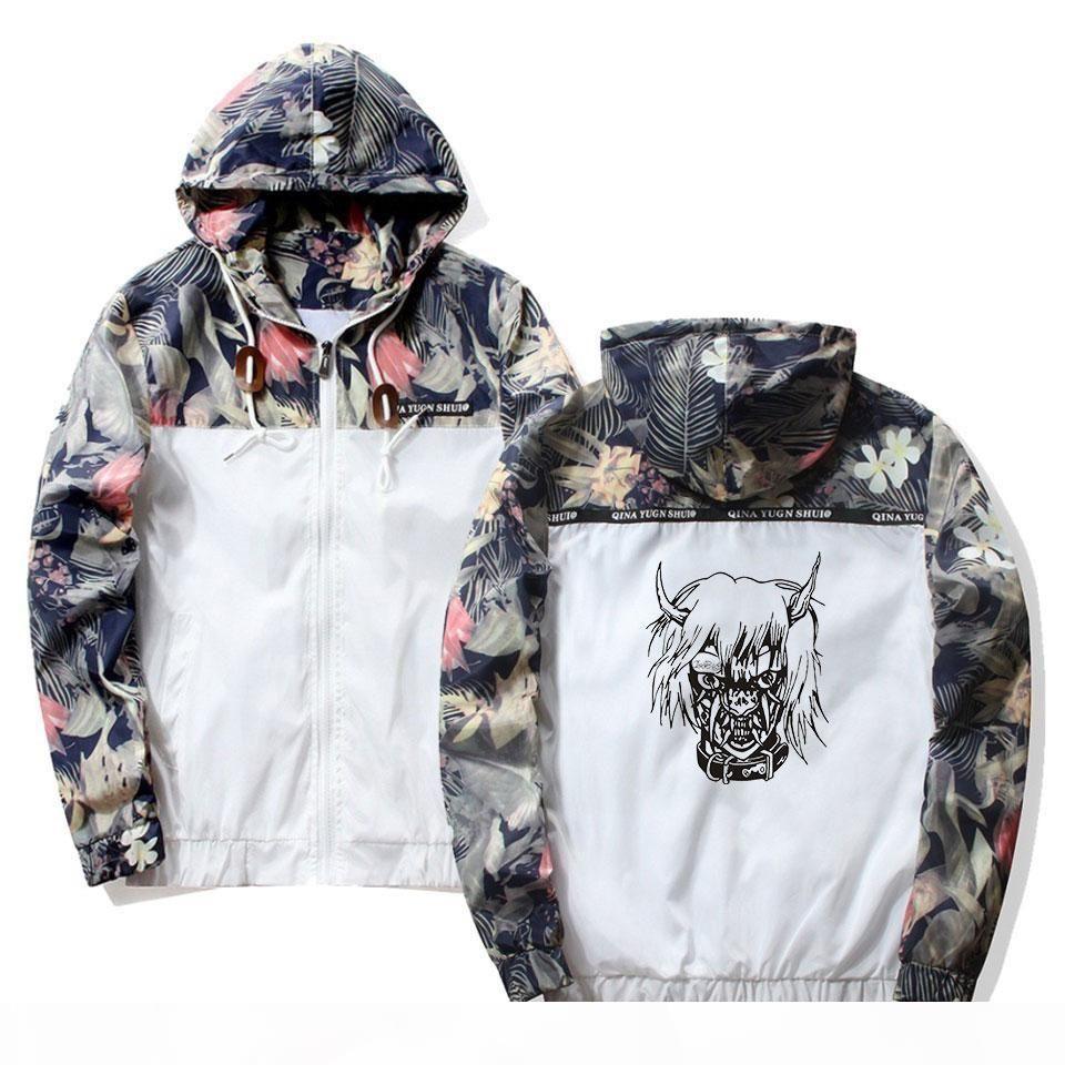 Aikooki quente venda lil peep triste menino hip hop capuz jaquetas windbreaker homens jaquetas casacos camisola zipper leve bombardeiro