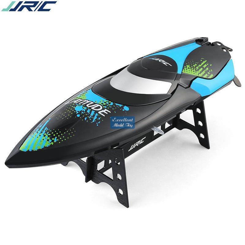 JJRC S3 2.4G Fernbedienung Speedboat Spielzeug, Highgeschwindigkeit 25km / h, Capsize Recovery, Niedrige Energieerinnerung, Weihnachtskind-Geburtstagsjungen-Geschenk, 2-1