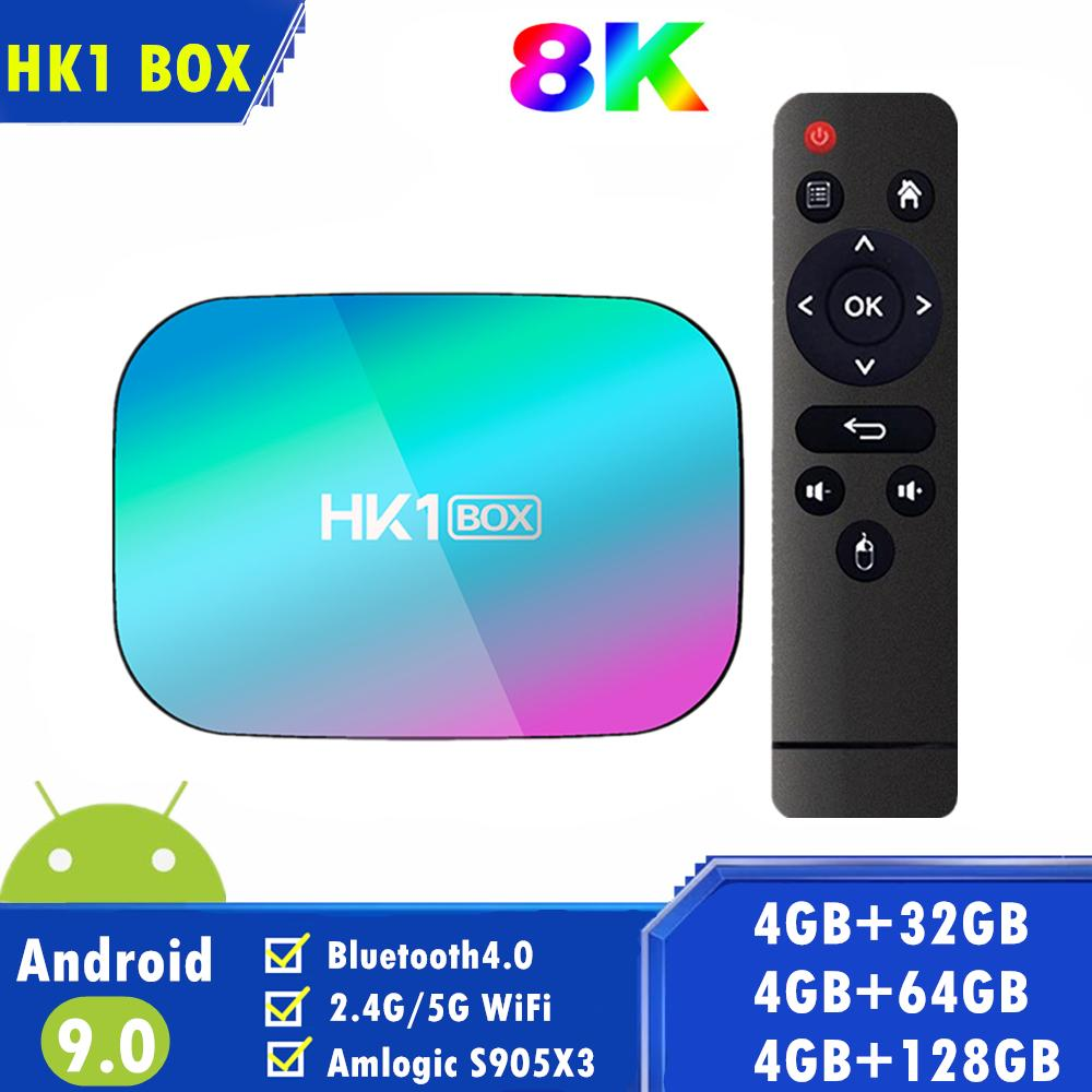 HK1 Box Android 9.0 TV Box 4GB 32GB 64GB Amlogic S905X3 Quad Core Smart TV  Box Dual Wifi VS X96 Max Android Tv Box Review Android Box Tv From  Streamtech, $34.74