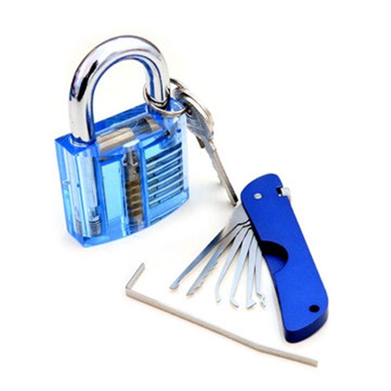 فتحة قفل الباب قابلة للطي مع كوتواي شفافة داخل عرض قفل القفل